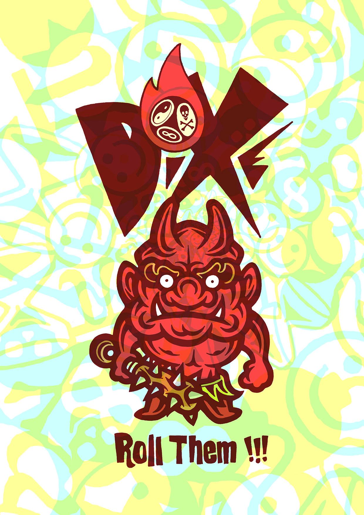 Poster Oni DiXe