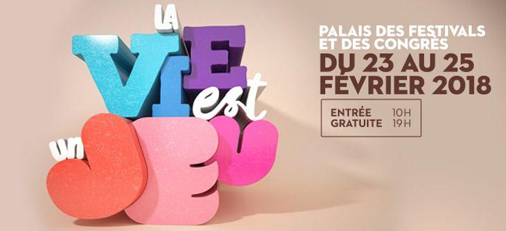 Poster Festival International du jeux de Cannes 2018