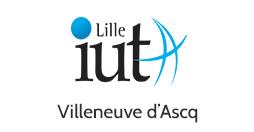 Logo IUT A Villeneuve d'Ascq